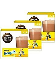 Nescafé Dolce Gusto capsules Nesquik - chocolademelk - 48 cups - geschikt voor 24 koppen - Dolce Gusto cups