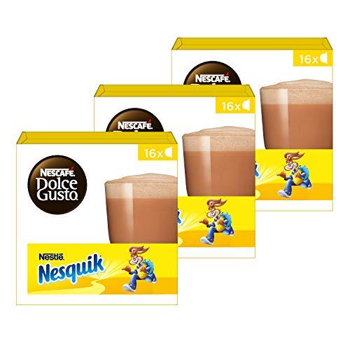 Nescafé Dolce Gusto capsules Nesquik – chocolademelk – 48 cups – geschikt voor 24 koppen – Dolce Gusto cups