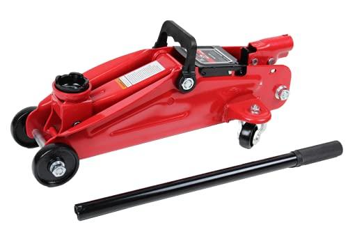 K Tool International 2 Ton Trolley Jack; Lifting Range 5-1/8' to 13',...