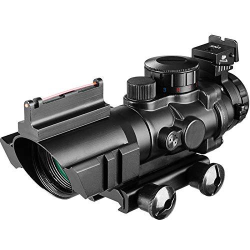 ACEXIER 4x32 Zielfernrohr 20mm Schwalbenschwanz Reflex Optik Zielfernrohr Taktisches Visier Jagdgewehr Gewehr Airsoft Sniper Magnifier Air Gun