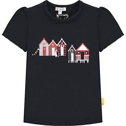 Steiff Mädchen 112228 T-Shirt, Navy, 110
