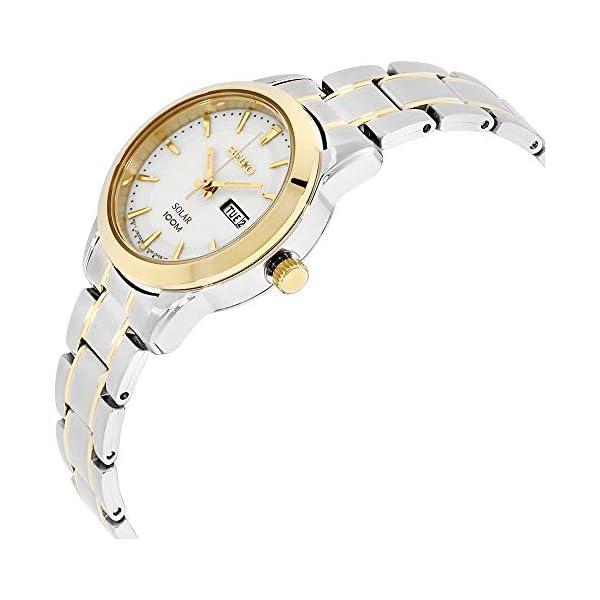 Seiko Señoras día/fecha reloj de la exhibición SUT162P1