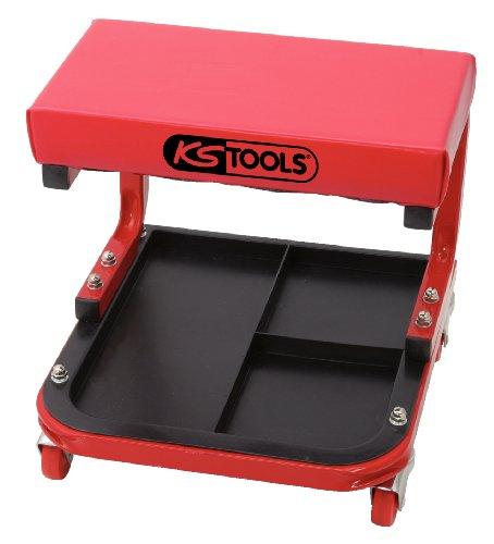 KS Tools 500.8020 Fahrbarer Werkstatthocker, L440xB360xH360mm