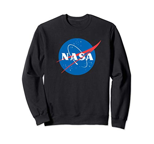 NASA Shirt, Blue Planet Ball Logo Insignia Symbol Graphic Sudadera
