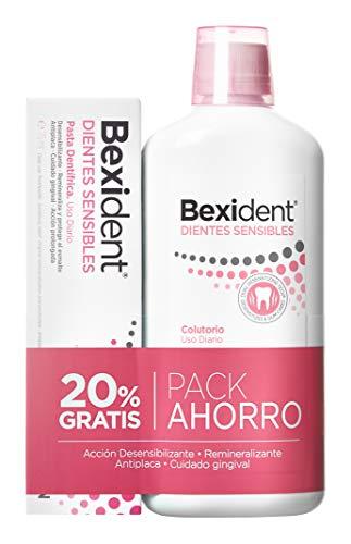 Isdin Bexident Dientes Sensibles Pack ahorro 20% EXTRA Colutorio 500ml+Pasta 75ml