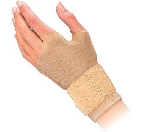 "Mueller Compression / Arthritis / Carpal Tunnel Gloves, 2 gloves/pack, Small 6.5-7.5"" - Beige"