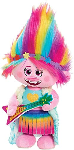 JP Trolls JPL65330 Trolls World Tour Dancing Feature Poppy Plush