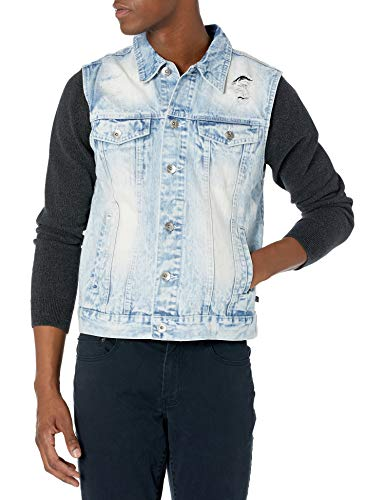 Rip Denim Jackets for Men's