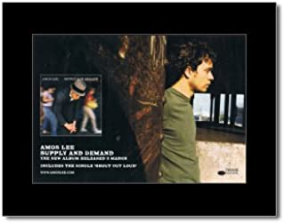 Music Ad World AMOS LEE - Supply and Demand Mini Poster - 21x13.5cm