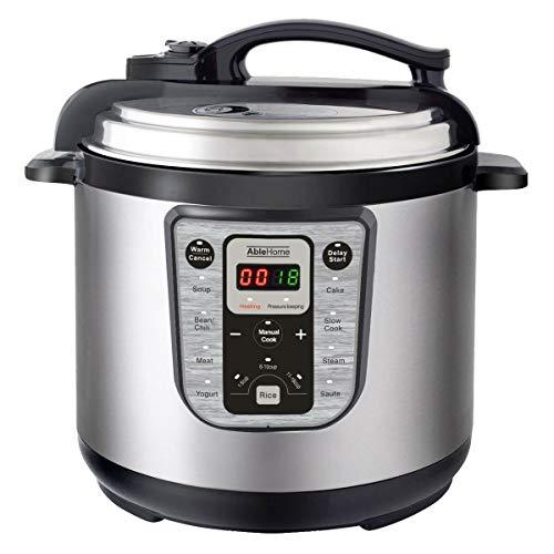 Cooker multi-function electric pressure 8 quarts 1250w stainless steel yogurt ul