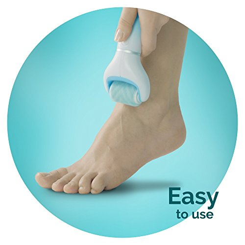 Scholl Velvet Smooth Electric Foot File with Exfoliating Refill