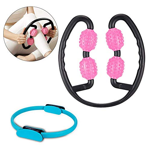 Y & Z Ring Been Massager Spier 360 ° Ring Been Been Spier Massage Stovepipe Fitness Apparatuur Kant Schuim Schuim Dijen Been Pijn Pijn Pijn Pijn Massage