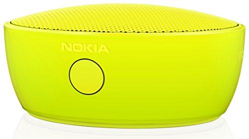 Nokia MD-12 Wiederaufladbarer Bluetooth und NFC Wireless Tragbarer Mini Lautsprecher mit Integriertem Mikrofon Kompatibel mit Lumia 820/920/925/930/1020/1520 - Gelb