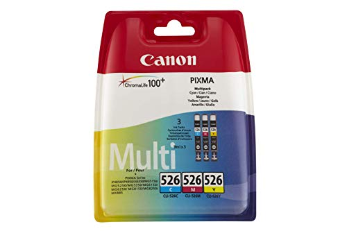 Canon CLI-526C/M/Y Multi-Pack cyan/magenta/yellow