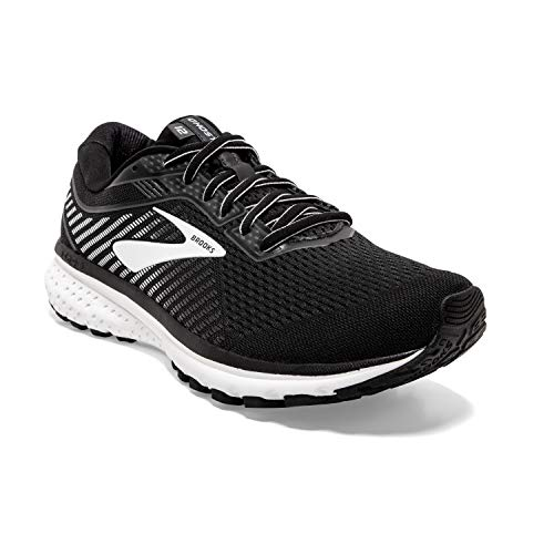 Brooks Ghost 12, Zapatillas para Correr para Hombre, Black/Ebony/White, 44 EU