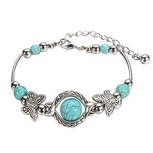 Hemlock Woman Crystal Diamond Bracelets, Valentine's Chain Bracelet Lovers Gifts (Multicolor)