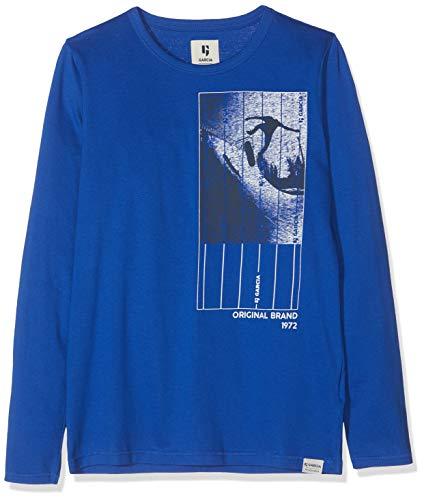 Garcia Kids Jungen G93404 Langarmshirt, Blau (Skydiver 2731), 164 (Herstellergröße: 164/170)