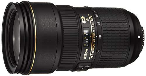 Nikon - mod. AF-S Nikkor - Obiettivo per SLR da 24–70mm, f/2.8E ED VR, 20/16, automatico/manuale, Nikon F (Ricondizionato)