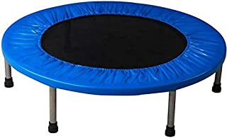 Ufit Trampoline 60 inch - with Safety Pad - Black/Blue
