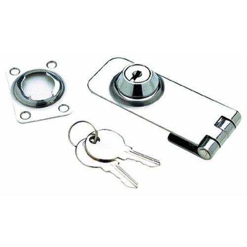 Seachoice Prod 37031 1-1/8X3 Ss Lockable Hasp
