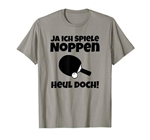 Tischtennis T-Shirt Witzig | Ich Spiele Noppen Heul Doch