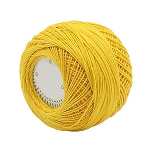 RWEAONT 1 Rollo 3 hebras algodón Hilado de Tejido de Punto de Encaje Ganchillo Cuerda de Hilo de...