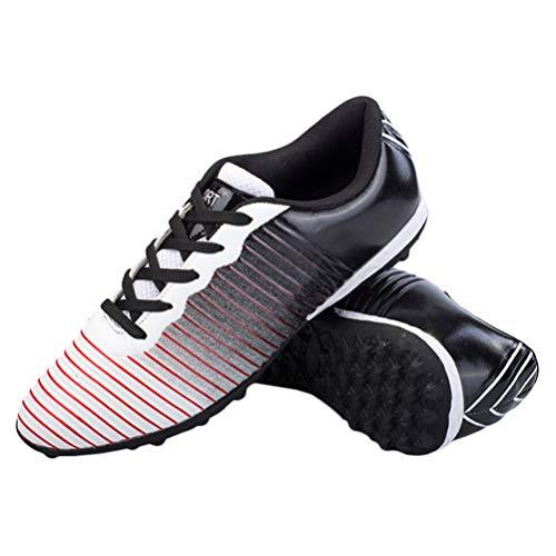 Holibanna 1 par de Zapatos de Fútbol para Niños Botas de Fútbol para Niños Zapatos de Entrenamiento de Fútbol Antideslizantes Tacos para Niños Y Niñas