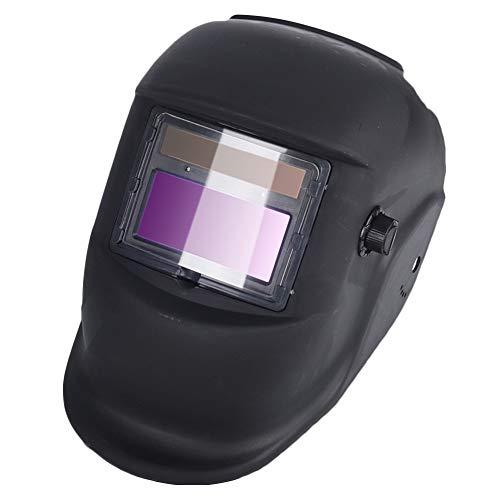 HEREB Máscara de soldadura, con energía solar, para soldar, con oscurecimiento automático, casco de argón, máscara de soldadura