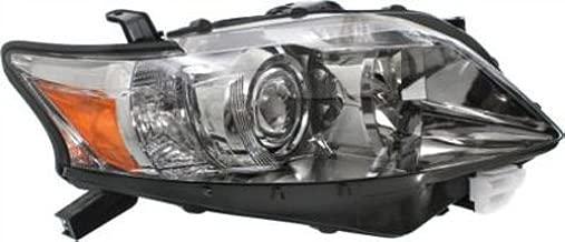 Crash Parts Plus Right Passenger Side Headlight Head Lamp for 2010-2012 Lexus RX350