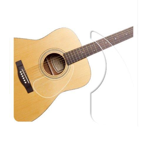 [Healingshield] Premium Acoustic Guitar Pickguard Basic Type Clear matt