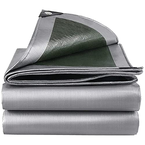 MWXFYWW Paño de Sombra para Dosel de Plantas, Lona de PE, Cubierta Multiusos a Prueba de Lluvia, Lona Liviana PVC Universal para Sombrilla para Acampar al Aire Libre(Color:A;Size:2x3m)