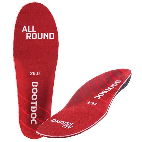 Bootdoc Allround Einlegesohle Schuhsohle Skischuh Snowboardschuh Skistiefel (25.0)