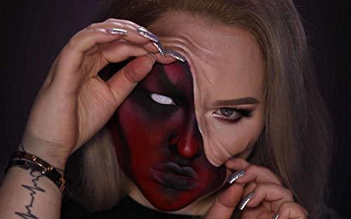 OKOUNOKO Pintura por Conjunto Digital, Mujer Enmascarada, Decoración De Fiesta De Halloween, Niños Sin Marco 40X50 Cm