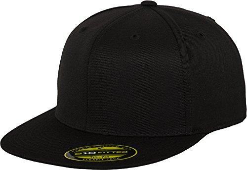 Flex fit Premium Fitted 219 Gorra de náutica, Negro (Black), L/XL Unisex Adulto