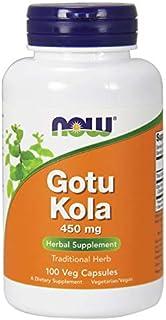 Now Foods Gotu Kola 450mg 100 Vcaps