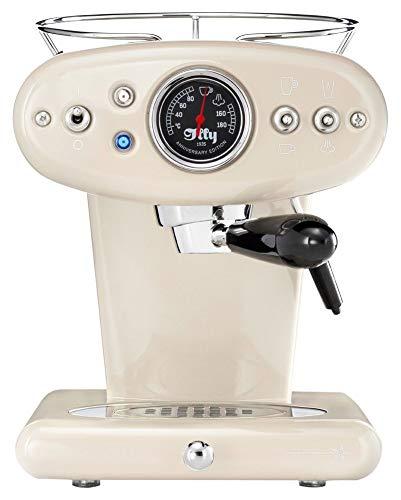 illy Metodo 60250 X1 Anniversary Espresso & Coffee Almond Kapselmaschine, Rostfreier Stahl, Beige (Generalüberholt)