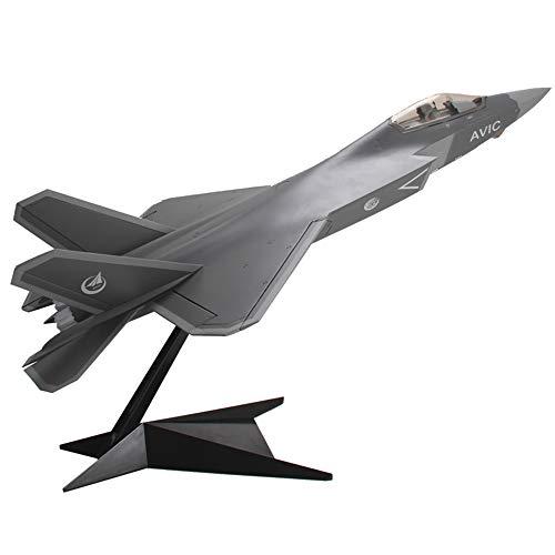 1/24 Scale Military J31 Gyrfalcon Fighter CPLA Aleación Modelo, Juguetes para Adultos Y Regalo, 28.7 Pulgadas X 18.9 Pulgadas