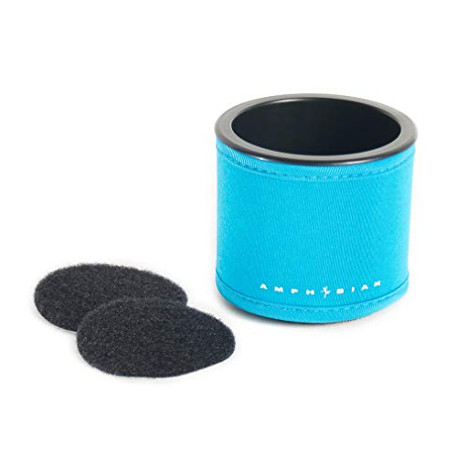 Amphibian Outdoor SUP Cup Holder Velcro Mount (Teal)