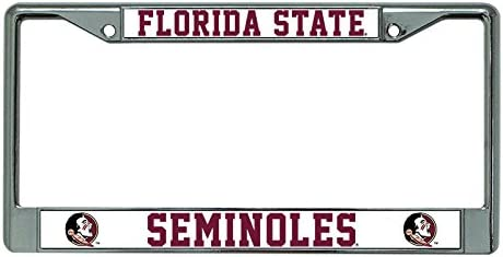 NCAA Florida State Seminoles License Frame Plate Chrome Max Over item handling ☆ 67% OFF