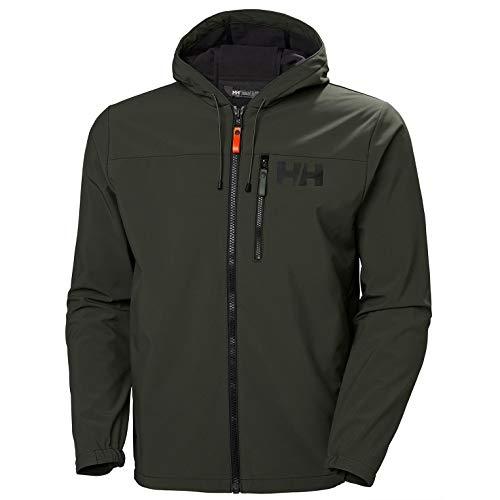 Helly Hansen Active Softshell Jacket Chaqueta, Hombre, 482 Beluga, 2XL