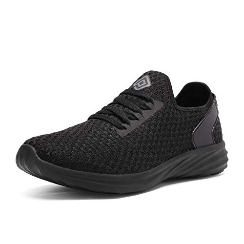 DREAM PAIRS Women's All Black Slip On Sneakers Lightweight Walking Shoes Size 6 US DHF19004L