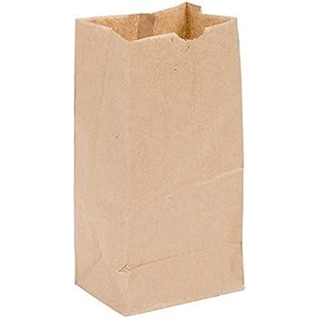 Perfect Stix - Brown Bag 2-100 2lb Brown Paper Bags - Pack of 100ct Brown Bags