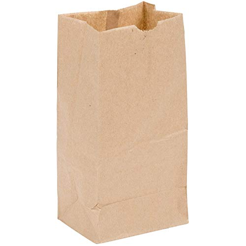 Perfect Stix 4lb Brown Paper Lunch Bags - Pack of 200ct - Brown Bag 4-200