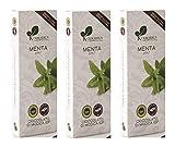 Ciokarrua Schokolade Minze von Modica/Minze Schokolade - 3 x 100 Gramm