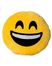 وسادة إيموجي - هابي فيس صفراء