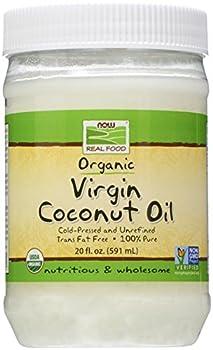 NOW Foods Organic Virgin Coconut Oil 20 oz