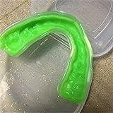 NO LOGO RCKJB Diente de Boxeo Boxeo Protector Protector bucal ortodoncia Brace Buck Dientes retenedores de ortodoncia Dental Boquillas Appliance Trainer (Color : Green)