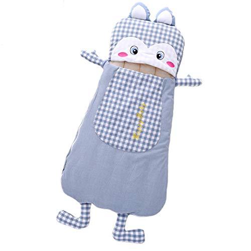 FREEDL Saco De Dormir Bebé con Capucha Anti-Patada Saco De Dormir, Baby Swaddle Wrap Manta Envolvente Multifuncional Manta De Bebé, Conjuntos De Manta con Cremallera Bidireccional para 0-24meses