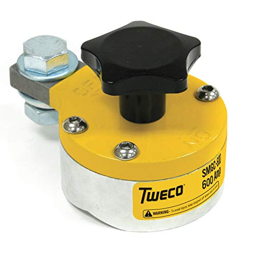 Tweco 9255-1062 SMGC600 Ground Clamp (600A) Switchable Magnetic