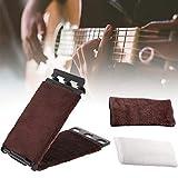 Limpiador de cuerdas de guitarra, limpiador de cuerdas de instrumento, limpiador de cuerdas, limpiador de cuerdas para guitarra de bajo eléctrico, limpiador de cuerdas